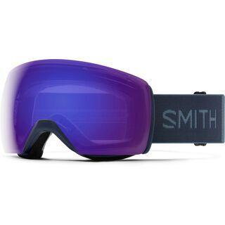 Smith Skyline XL, french navy/Lens: cp everyday violet mir - Skibrille