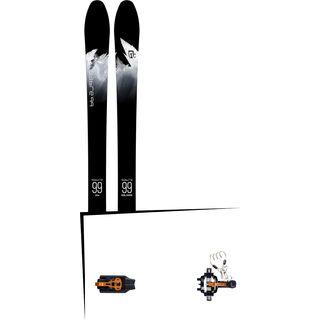 Set: Icelantic Sabre 99 2018 + Atomic Backland Tour black/orange