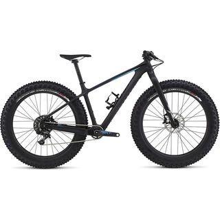 Specialized Fatboy Expert Carbon 2017, carbon/black/blue - Mountainbike