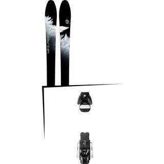 Set: Icelantic Sabre 89 2018 + Atomic STH 13 WTR black/gun metal