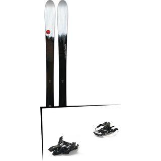 Set: Line Sir Francis Bacon 2018 + Marker Alpinist 9 Long Travel black/titanium