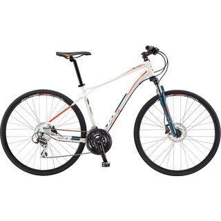 GT Transeo 3.0 2017, white/orange - Fitnessbike