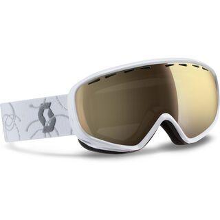 Scott Dana, white silver/ls bronze chrome - Skibrille