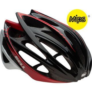 Bell Gage MIPS, black red cadence - Fahrradhelm