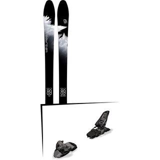 Set: Icelantic Sabre 89 2018 + Marker Squire 11 black anthracite