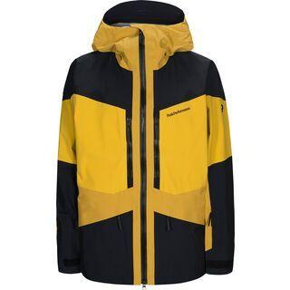 Peak Performance Gravity Jacket, yellow flow - Skijacke