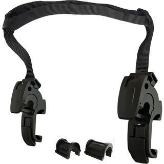 Ortlieb QL2.1 Mounting Hooks (16/20 mm) and Adjustable Handle (E192/E193) - Schnapphaken