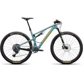Santa Cruz Blur C S TR 2020, aqua/yellow - Mountainbike