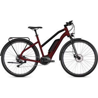 Ghost Hybride Square Trekking B4.8 W AL 2019, red/black/silver - E-Bike