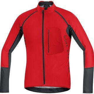Gore Bike Wear Alp-X Pro Windstopper SO Zip-Off Trikot, red black - Radtrikot