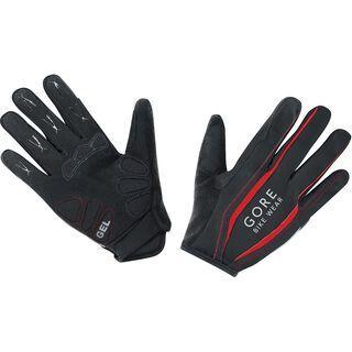 Gore Bike Wear Power Handschuhe lang, black/red