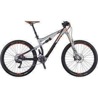 Scott Genius 930 2016, black/grey/orange - Mountainbike