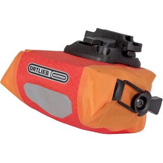 Ortlieb Saddle-Bag Micro, signalrot-orange - Satteltasche