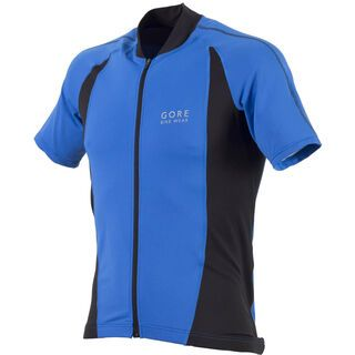 Gore Bike Wear Power 2.0 Jersey, Azurblau/Schwarz - Radtrikot
