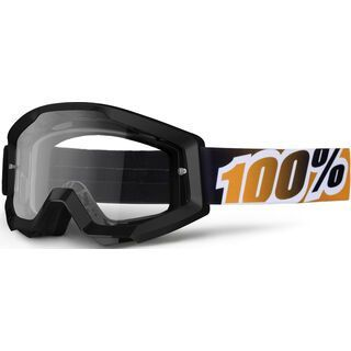 100% Strata, black mandarina/Lens: clear - MX Brille