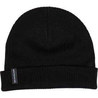 WearColour Rib Beanie, black - Mütze