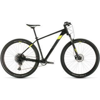 Cube Analog 29 2020, black´n´flashyellow - Mountainbike