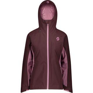 Scott Ultimate GTX Women's Jacket, red fudge/cassis pink - Skijacke
