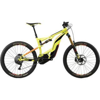 Cannondale Moterra LT 1 2017, neon spring/red/black - E-Bike