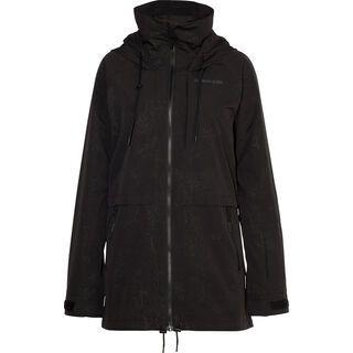 Armada Gypsum Jacket, black floral emboss - Skijacke