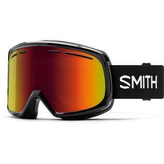 Smith Range, black/Lens: red sol-x mirror - Skibrille