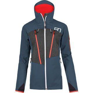 Ortovox Pordoi Jacket W, night blue - Softshelljacke