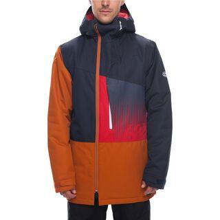 686 Men's Icon Insulated Jacket, navy colorblock - Snowboardjacke