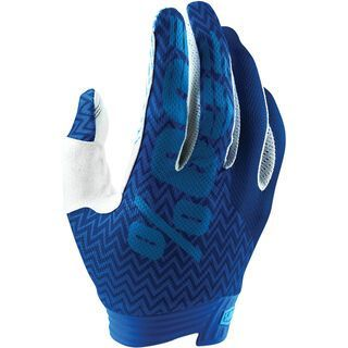100% iTrack Youth Glove, blue/navy - Fahrradhandschuhe