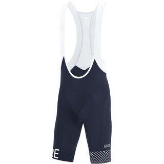 Gore Wear C5 Opti kurze Trägerhose+, blue/white - Radhose
