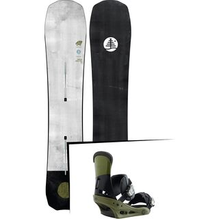 Set: Burton Family Tree Stun Gun 2019 + Burton Custom true grit