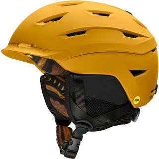 Smith Level MIPS, matte amber textile - Snowboardhelm