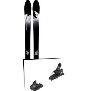 Set: Icelantic Sabre 99 2018 + Salomon STH2 WTR 13 black/dark grey
