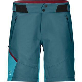 Ortovox Merino Shield Light Brenta Shorts W, mid aqua