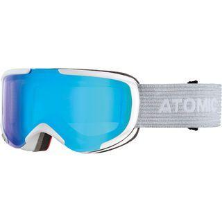 Atomic Savor S Stereo, white/Lens: blue stereo - Skibrille