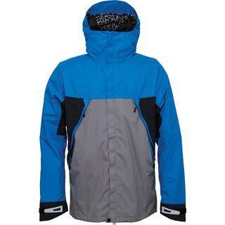 686 Glacier Tract Jacket, Blue Colorblock - Snowboardjacke