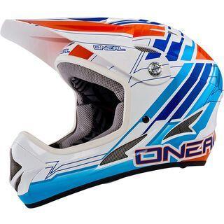 ONeal Backflip Fidlock DH Helmet Evo Pinner, blue - Fahrradhelm