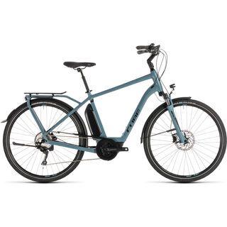 Cube Town Sport Hybrid Pro 500 2019, blue´n´black - E-Bike