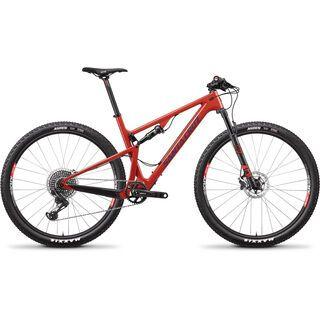 Santa Cruz Blur CC X01 2018, sunset - Mountainbike