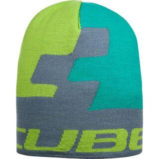 Cube Beanie Cubist, green´n´lime´n´grey - Mütze