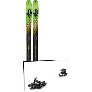 Set: K2 SKI Wayback 88 2019 + Marker Alpinist 12 black/titanium