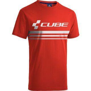 Cube T-Shirt Race Pilot red´n´white