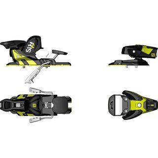 Salomon STH2 WTR 13 130 mm, black/yellow - Skibindung