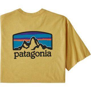 Patagonia Men's Fitz Roy Horizons Responsibili-Tee, surfboard yellow - T-Shirt