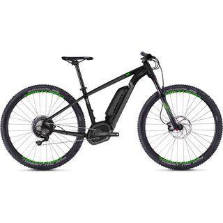 Ghost Hybride Teru B7.9 AL 2018, black/gray/neon green - E-Bike