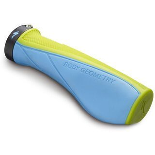 Specialized Contour XC Grips, hyper green/cyan - Griffe