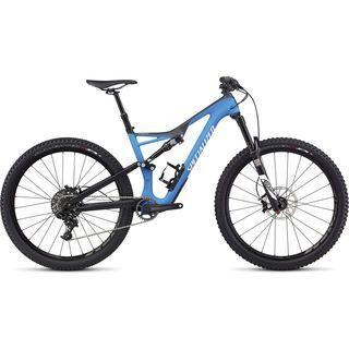 Specialized Stumpjumper FSR Comp Carbon 650B 2017, carbon/blue/white - Mountainbike