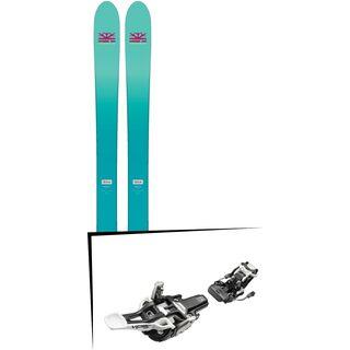 Set: DPS Skis Nina F99 Foundation 2018 + Fritschi Diamir Vipec 12 schwarz