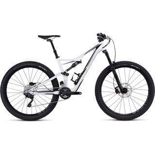 Specialized Stumpjumper FSR Comp Carbon 650b 2016, white/black - Mountainbike