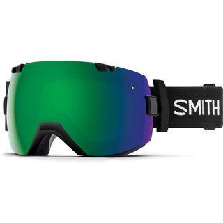 Smith I/OX inkl. Wechselscheibe, black/Lens: sun green mirror chromapop - Skibrille