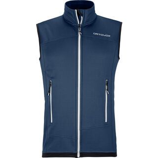 Ortovox Merino Fleece Light Vest M, night blue - Fleeceweste